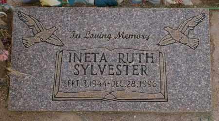SYLVESTER, INETA RUTH - Pinal County, Arizona   INETA RUTH SYLVESTER - Arizona Gravestone Photos
