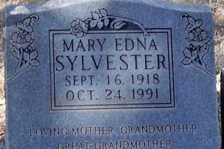 SYLVESTER, MARY EDNA - Pinal County, Arizona | MARY EDNA SYLVESTER - Arizona Gravestone Photos