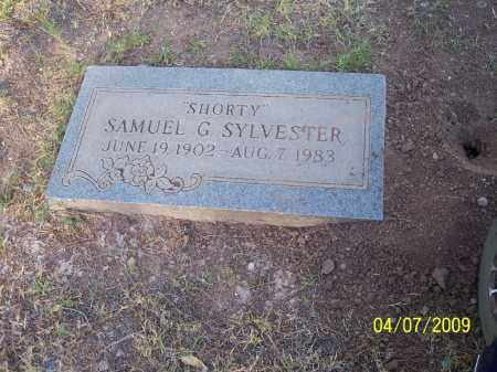 "SYLVESTER, SAMUEL GIFFORD ""SHORTY"" - Pinal County, Arizona 