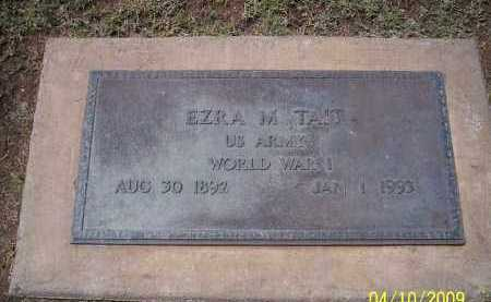 TAIT, EZRA M. - Pinal County, Arizona | EZRA M. TAIT - Arizona Gravestone Photos