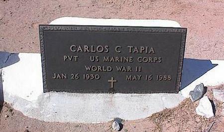 TAPIA, CARLOS C. - Pinal County, Arizona | CARLOS C. TAPIA - Arizona Gravestone Photos