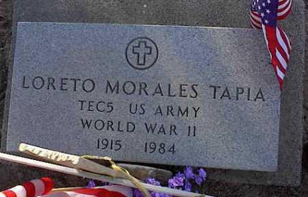 TAPIA, LORETO MORALES - Pinal County, Arizona | LORETO MORALES TAPIA - Arizona Gravestone Photos