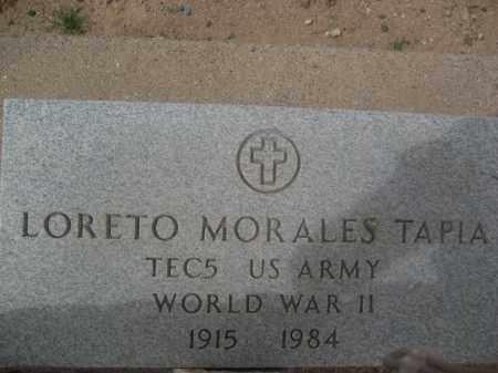 TAPIA, LORETO MORALES - Pinal County, Arizona   LORETO MORALES TAPIA - Arizona Gravestone Photos