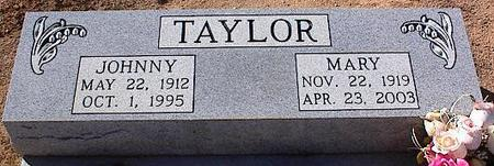 TAYLOR, JOHNNY - Pinal County, Arizona | JOHNNY TAYLOR - Arizona Gravestone Photos