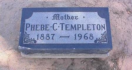 TEMPLETON, PHEBE C. - Pinal County, Arizona | PHEBE C. TEMPLETON - Arizona Gravestone Photos