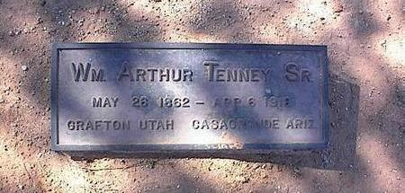 TENNEY, WILLIAM ARTHUR, SR. - Pinal County, Arizona | WILLIAM ARTHUR, SR. TENNEY - Arizona Gravestone Photos