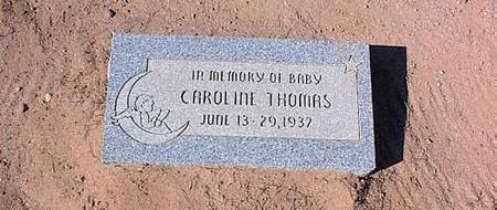 THOMAS, CAROLINE - Pinal County, Arizona | CAROLINE THOMAS - Arizona Gravestone Photos