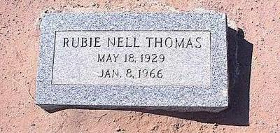 THOMAS, RUBY NELL - Pinal County, Arizona | RUBY NELL THOMAS - Arizona Gravestone Photos