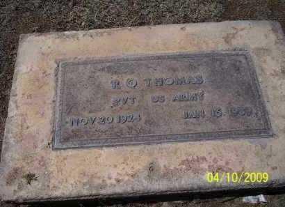 THOMAS, R.Q - Pinal County, Arizona | R.Q THOMAS - Arizona Gravestone Photos