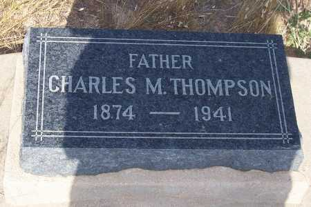 THOMPSON, CHARLES M. - Pinal County, Arizona | CHARLES M. THOMPSON - Arizona Gravestone Photos