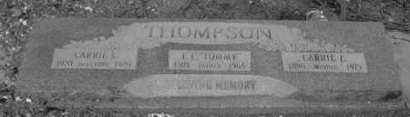 THOMPSON, CARRIE  E. - Pinal County, Arizona | CARRIE  E. THOMPSON - Arizona Gravestone Photos