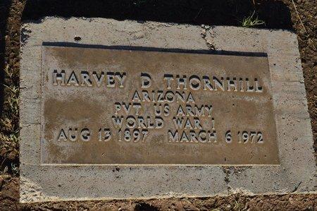 THORNHILL, HARVEY D - Pinal County, Arizona | HARVEY D THORNHILL - Arizona Gravestone Photos