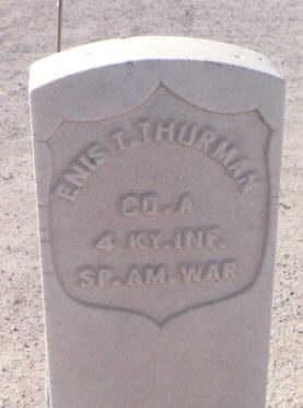 THURMAN, ENIS T. - Pinal County, Arizona | ENIS T. THURMAN - Arizona Gravestone Photos