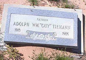 TIEMANN, ADOLPH WILLIAM - Pinal County, Arizona | ADOLPH WILLIAM TIEMANN - Arizona Gravestone Photos