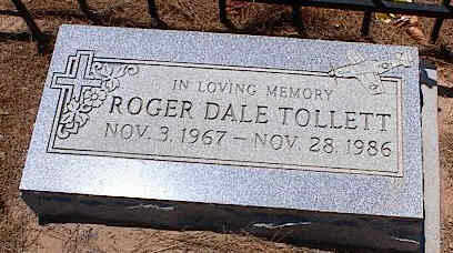 TOLLETT, ROGER DALE - Pinal County, Arizona | ROGER DALE TOLLETT - Arizona Gravestone Photos