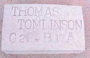 TOMLINSON, THOMAS - Pinal County, Arizona | THOMAS TOMLINSON - Arizona Gravestone Photos