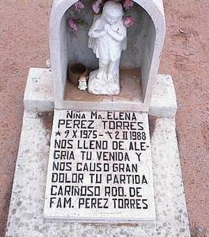 TORRES, NINA MA. ELENA PEREZ - Pinal County, Arizona | NINA MA. ELENA PEREZ TORRES - Arizona Gravestone Photos