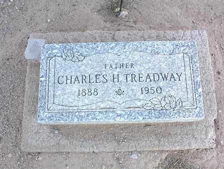 TREADWAY, CHARLES H. - Pinal County, Arizona | CHARLES H. TREADWAY - Arizona Gravestone Photos