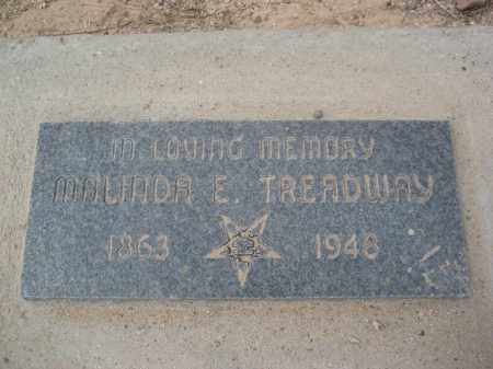 TREADWAY, MALINDA E. - Pinal County, Arizona | MALINDA E. TREADWAY - Arizona Gravestone Photos