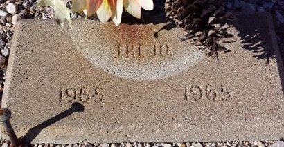TREJO, (BABY) - Pinal County, Arizona | (BABY) TREJO - Arizona Gravestone Photos