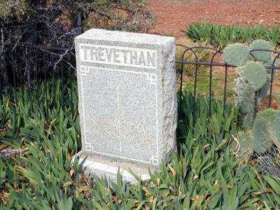 TREVETHAN, RICHARD - Pinal County, Arizona | RICHARD TREVETHAN - Arizona Gravestone Photos