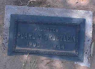 TRUETLEIN, PEARL M. - Pinal County, Arizona | PEARL M. TRUETLEIN - Arizona Gravestone Photos
