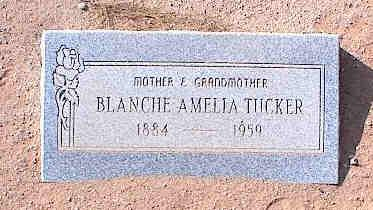 TUCKER, BLANCHE AMELIA - Pinal County, Arizona | BLANCHE AMELIA TUCKER - Arizona Gravestone Photos