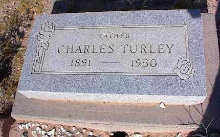 TURLEY, CHARLES - Pinal County, Arizona | CHARLES TURLEY - Arizona Gravestone Photos