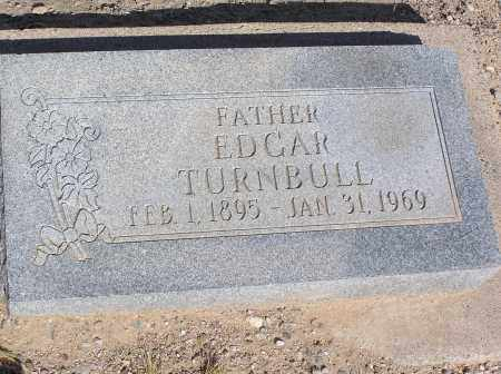 TURNBULL, EDGAR - Pinal County, Arizona | EDGAR TURNBULL - Arizona Gravestone Photos