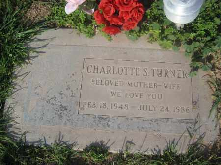 TURNER, CHARLOTTE S. - Pinal County, Arizona | CHARLOTTE S. TURNER - Arizona Gravestone Photos