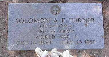 TURNER, SOLOMON A. E. - Pinal County, Arizona | SOLOMON A. E. TURNER - Arizona Gravestone Photos