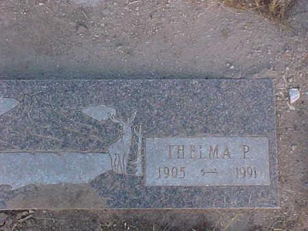 TURPIN, THELMA P. - Pinal County, Arizona | THELMA P. TURPIN - Arizona Gravestone Photos