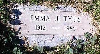 TYUS, EMMA J. - Pinal County, Arizona | EMMA J. TYUS - Arizona Gravestone Photos
