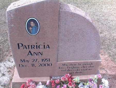 UNKNOWN, PATRICIA ANN - Pinal County, Arizona   PATRICIA ANN UNKNOWN - Arizona Gravestone Photos