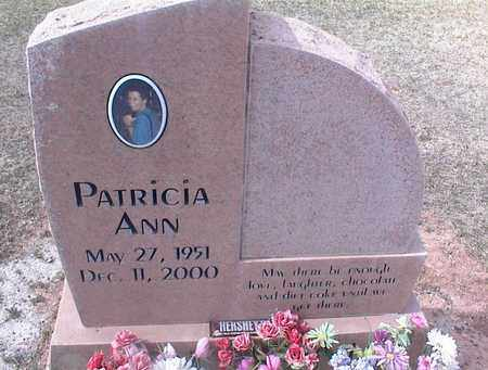 UNKNOWN, PATRICIA ANN - Pinal County, Arizona | PATRICIA ANN UNKNOWN - Arizona Gravestone Photos