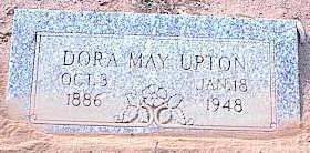 STRICKLAND UPTON, DORA MAY - Pinal County, Arizona   DORA MAY STRICKLAND UPTON - Arizona Gravestone Photos