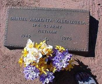 VALENZUELA, DANIEL ARMENTA - Pinal County, Arizona | DANIEL ARMENTA VALENZUELA - Arizona Gravestone Photos