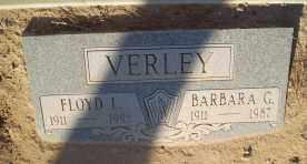 VERLEY, BARBARA G. - Pinal County, Arizona | BARBARA G. VERLEY - Arizona Gravestone Photos