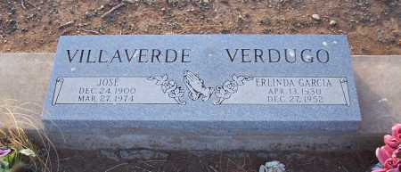 VERDUGO, ERLINDA - Pinal County, Arizona | ERLINDA VERDUGO - Arizona Gravestone Photos
