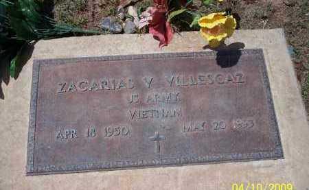 VILLESCAZ, ZACARIAS V. - Pinal County, Arizona   ZACARIAS V. VILLESCAZ - Arizona Gravestone Photos