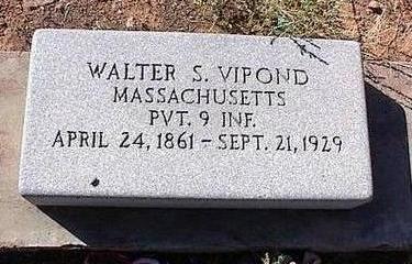 VIPOND, WALTER S. - Pinal County, Arizona   WALTER S. VIPOND - Arizona Gravestone Photos