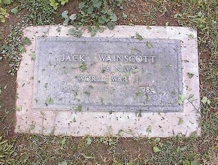 WAINSCOTT, JACK - Pinal County, Arizona | JACK WAINSCOTT - Arizona Gravestone Photos