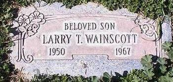 WAINSCOTT, LARRY T. - Pinal County, Arizona | LARRY T. WAINSCOTT - Arizona Gravestone Photos