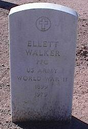 WALKER, ELLETT - Pinal County, Arizona   ELLETT WALKER - Arizona Gravestone Photos