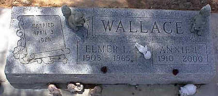 WALLACE, ANNIE L. - Pinal County, Arizona | ANNIE L. WALLACE - Arizona Gravestone Photos