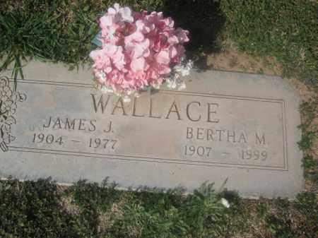 WALLACE, BERTHA M. - Pinal County, Arizona   BERTHA M. WALLACE - Arizona Gravestone Photos