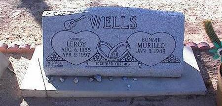 WELLS, LEROY - Pinal County, Arizona | LEROY WELLS - Arizona Gravestone Photos
