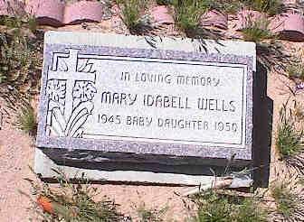 WELLS, MARY IDABELL - Pinal County, Arizona   MARY IDABELL WELLS - Arizona Gravestone Photos