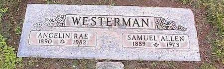 WESTERMAN, SAMUEL ALLEN - Pinal County, Arizona | SAMUEL ALLEN WESTERMAN - Arizona Gravestone Photos