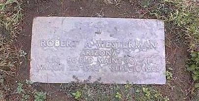 WESTERMAN, ROBERT A. - Pinal County, Arizona   ROBERT A. WESTERMAN - Arizona Gravestone Photos